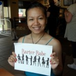 Barter Babe 197. Actor and acting coach Chantria Tram bartered an acting lesson with me. Can't wait!!!