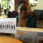 Barter Babe 200!! Officially hit 200!! This babe bartered a wii console! I'm so excited - wii fit here I come!