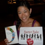 "Barter Babe 227. Bartered a copy of the amazing and inspiring book ""The Otesha Book"" - such a great read!"