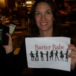 Barter Babe 299. Bartered an Iphone 3G!!! Amazing! My blackberry has been missing the Q# button for months and I dropped my ipod in the lake - this is so timely and so helpful!!