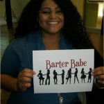 Barter Babe 63. Owner and design specialist of Golden Touch Events! Consulting my sister for centerpieces for her wedding in September. Check her out! www.goldentouchevents.com